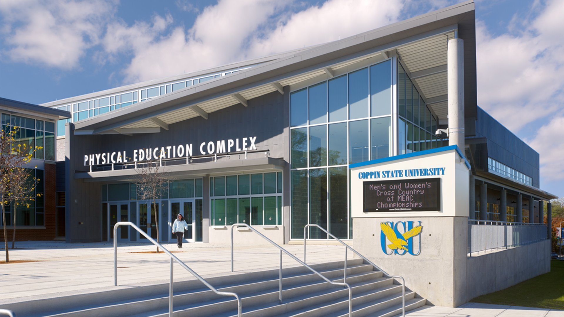 Coppin State University >> Hord Coplan Macht Physical Education Center Coppin State