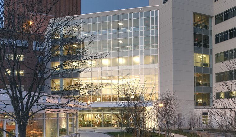 sinai hospital south tower architecture